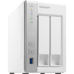 QNAP Turbo NAS TS-231P 2 x Total Bays SAN/NAS Storage System - Annapurna Labs Alpine Dual-core (2 Core) 1.70 GHz - 1 GB RAM - DDR3 SDRAM Tower