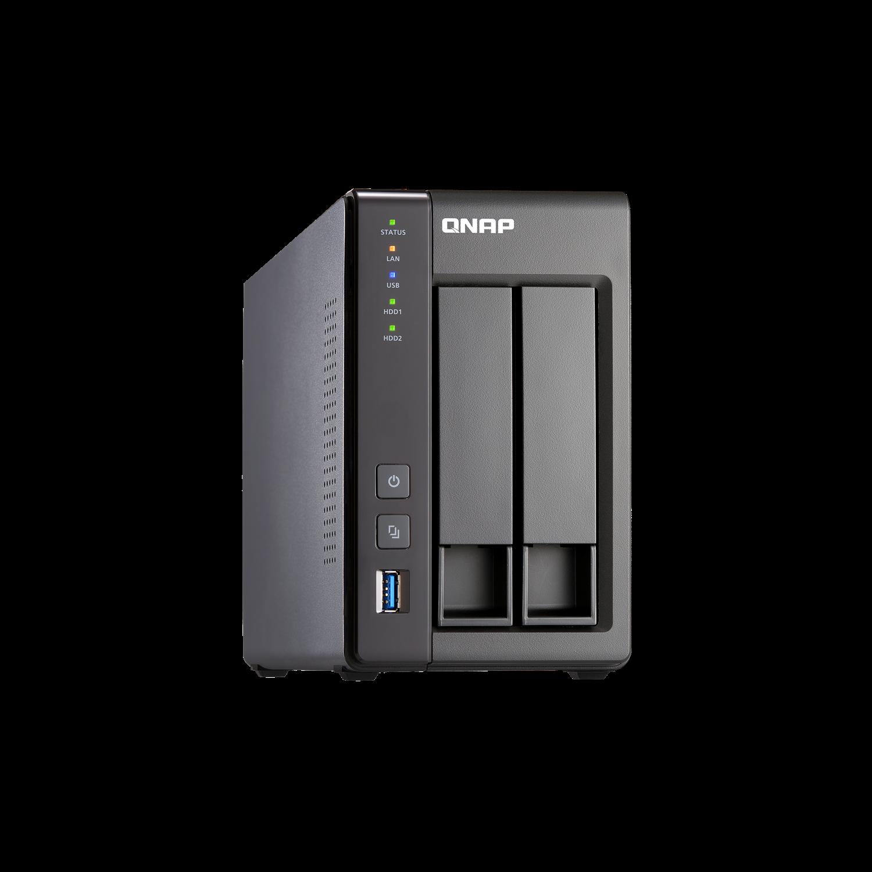QNAP Turbo NAS TS-251+ 2 x Total Bays NAS Storage System