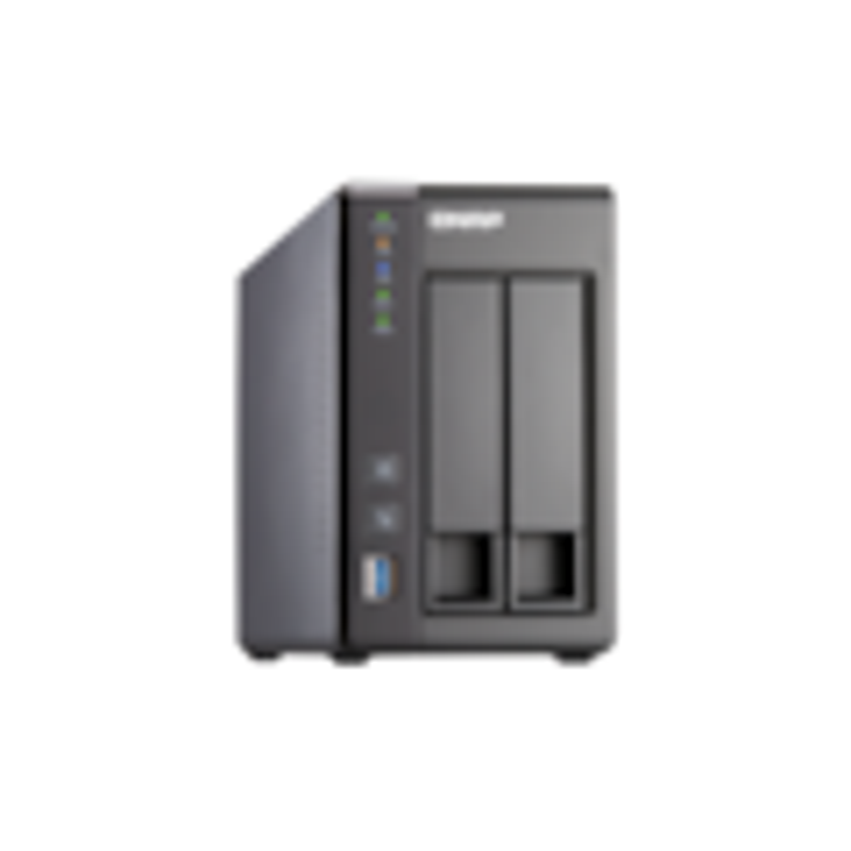 QNAP Turbo NAS TS-251+ 2 x Total Bays NAS Storage System - Intel Celeron Quad-core (4 Core) 2 GHz - 2 GB RAM - DDR3L SDRAM