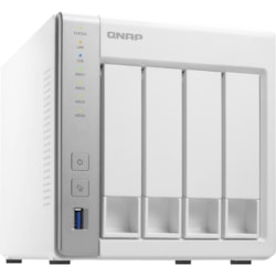 QNAP Turbo NAS TS-431P 4 x Total Bays SAN/NAS Storage System - Annapurna Labs Alpine Dual-core (2 Core) 1.70 GHz - 1 GB RAM - DDR3 SDRAM Tower