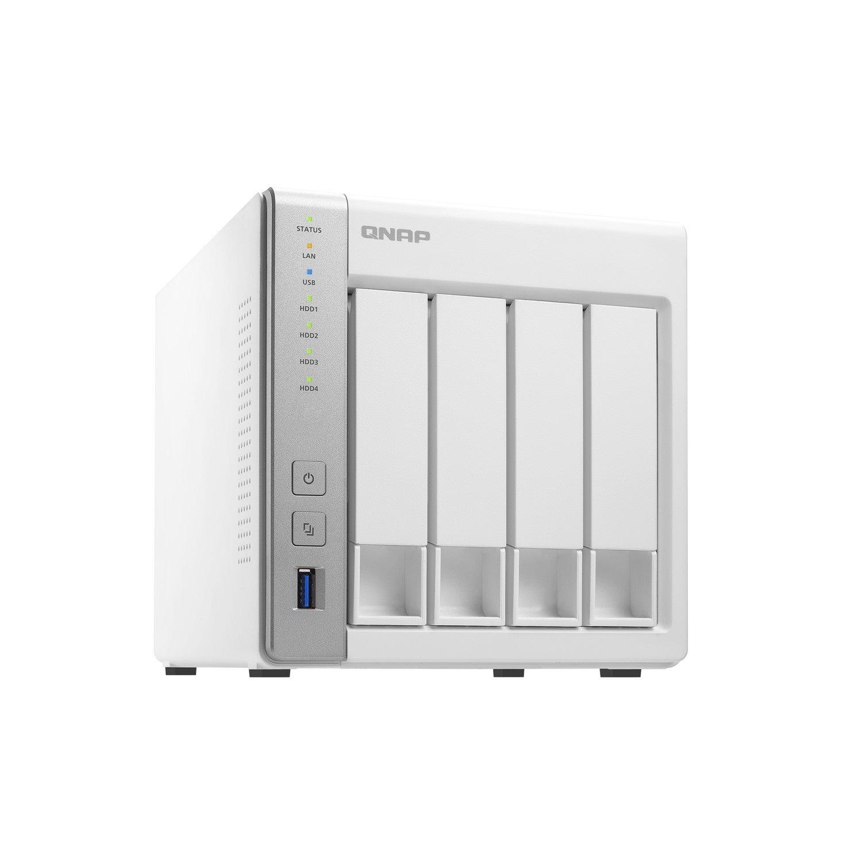 QNAP Turbo NAS TS-431P 4 x Total Bays SAN/NAS Storage System - Tower