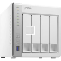 QNAP Turbo NAS TS-431P2 4 x Total Bays SAN/NAS Storage System - 512 MB Flash Memory Capacity - Annapurna Labs Quad-core (4 Core) 1.70 GHz - 4 GB RAM - DDR3 SDRAM Tower