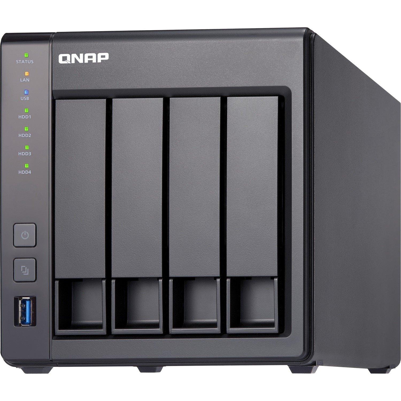 QNAP Turbo NAS TS-431X2 4 x Total Bays SAN/NAS Storage System - Tower