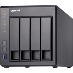 QNAP Turbo NAS TS-431X2 4 x Total Bays SAN/NAS Storage System - 512 MB Flash Memory Capacity - Annapurna Labs Alpine Quad-core (4 Core) 1.70 GHz - 8 GB RAM - DDR3 SDRAM Tower