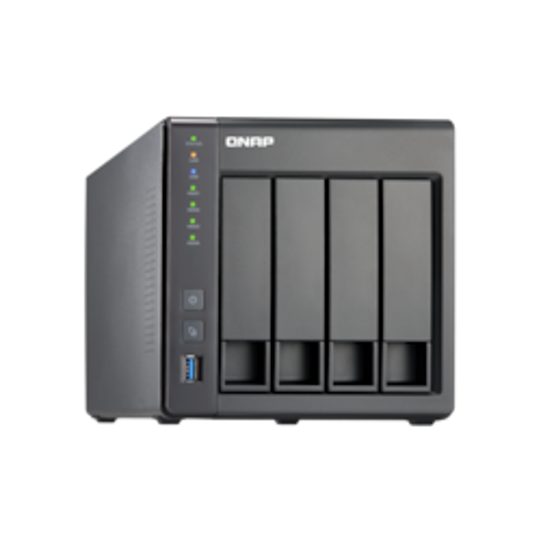 QNAP Turbo NAS TS-451+ 4 x Total Bays NAS Storage System - Intel Celeron 2.41 GHz - 2 GB RAM - DDR3L SDRAM Desktop