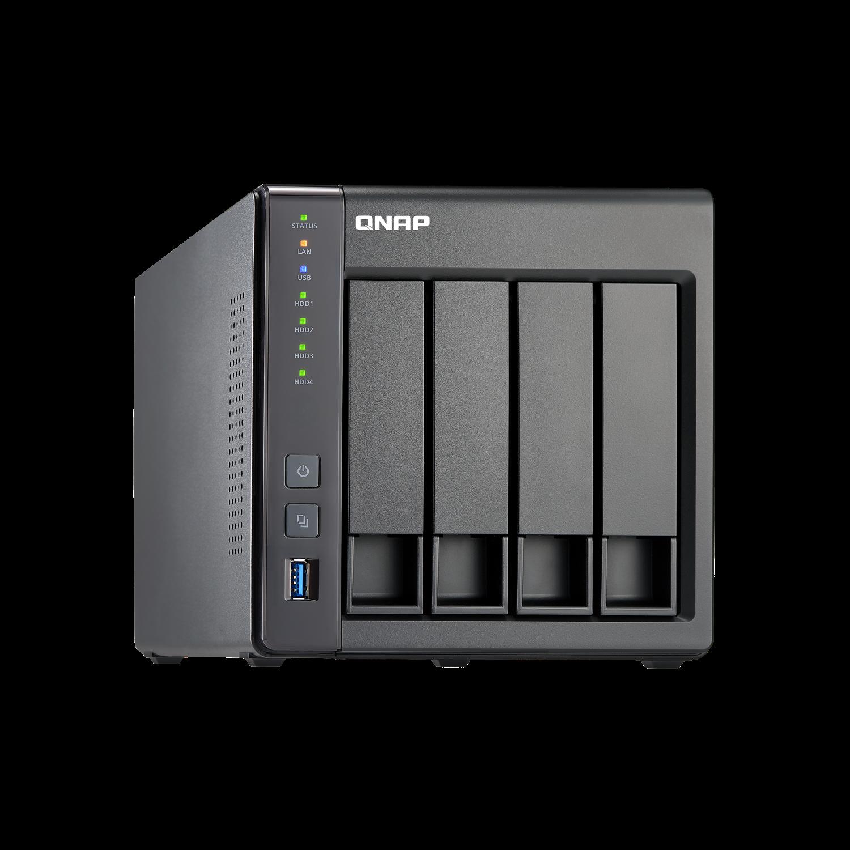 QNAP Turbo NAS TS-451+ 4 x Total Bays NAS Storage System - Desktop