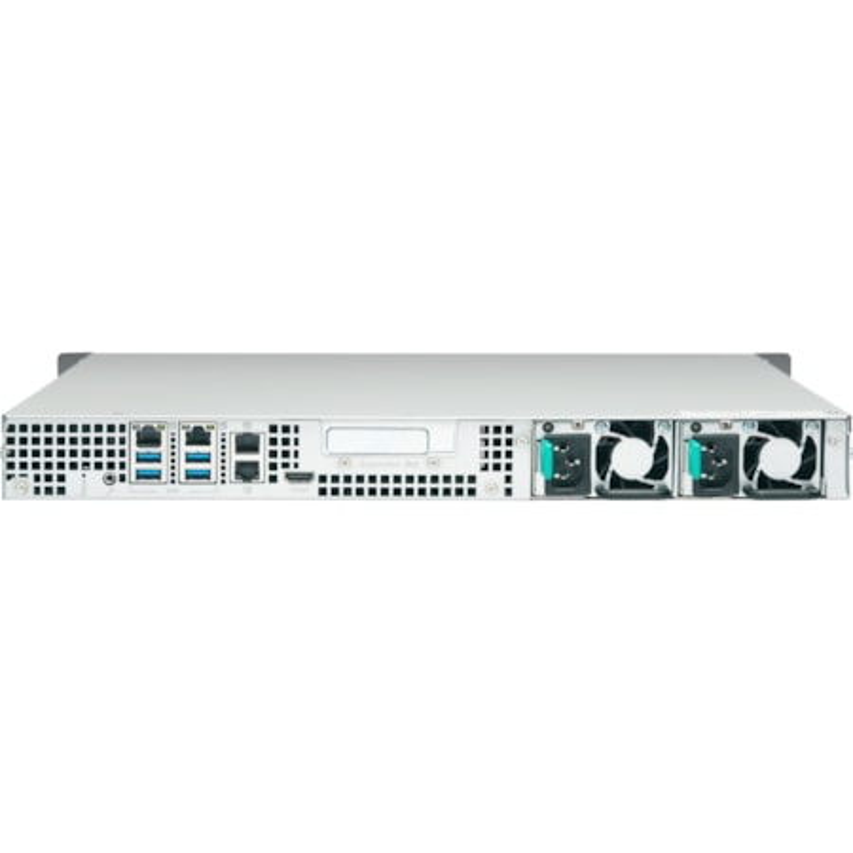 QNAP Turbo NAS TS-453BU-RP 4 x Total Bays SAN/NAS Storage System - 4 GB Flash Memory Capacity - Intel Celeron Quad-core (4 Core) 1.50 GHz - 4 GB RAM - DDR3L SDRAM - 1U Rack-mountable