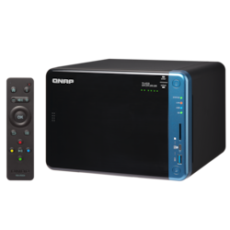 QNAP Turbo NAS TS-653B 6 x Total Bays SAN/NAS Storage System - Desktop