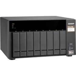 QNAP TS-873 8 x Total Bays SAN/NAS Storage System - 512 MB Flash Memory Capacity - AMD R-Series Quad-core (4 Core) 2.10 GHz - 4 GB RAM - DDR4 SDRAM Tower