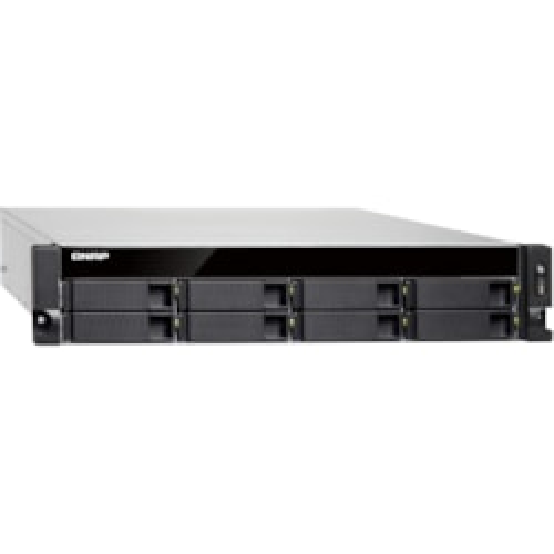 QNAP Turbo NAS TS-873U-RP 8 x Total Bays SAN/NAS Storage System - 2U - Rack-mountable