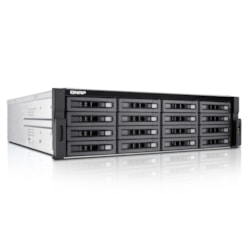 QNAP Turbo NAS TS-EC1680U-E3-4GE-R2 16 x Total Bays SAN/NAS Storage System - 3U - Rack-mountable