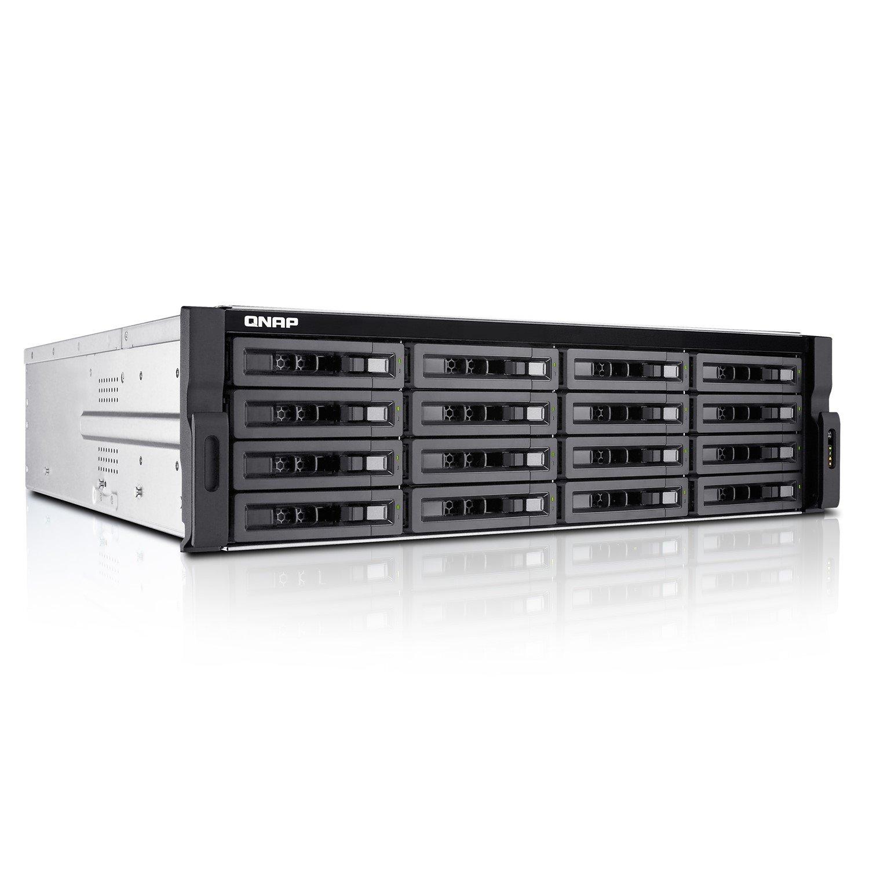 QNAP Turbo NAS TS-EC1680U-E3-4GE-R2 16 x Total Bays SAN/NAS Storage System - 3U - Rack-mountable