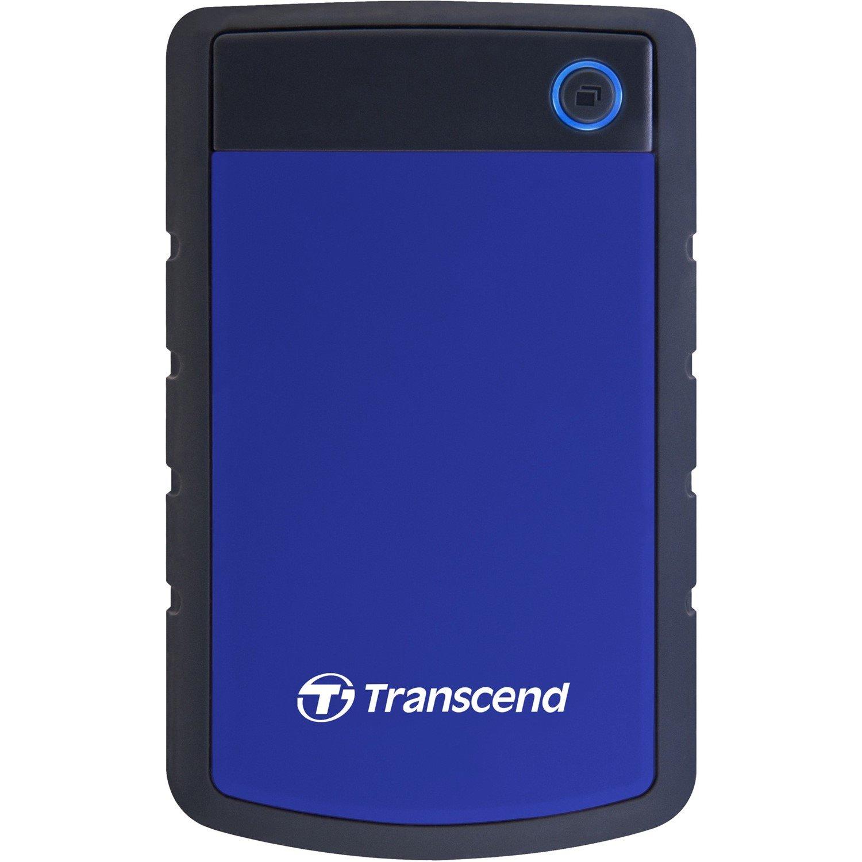 """Transcend StoreJet TS1TSJ25H3B 1 TB Hard Drive - SATA - 2.5"""" Drive - External - Portable"""