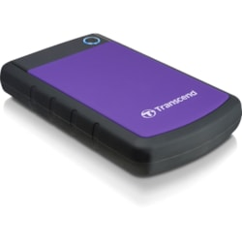 Transcend StoreJet 25 H3 1 TB Hard Drive - External - SATA