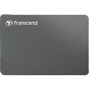 """Transcend StoreJet 25C3 2 TB Hard Drive - SATA - 2.5"""" Drive - External - Portable"""