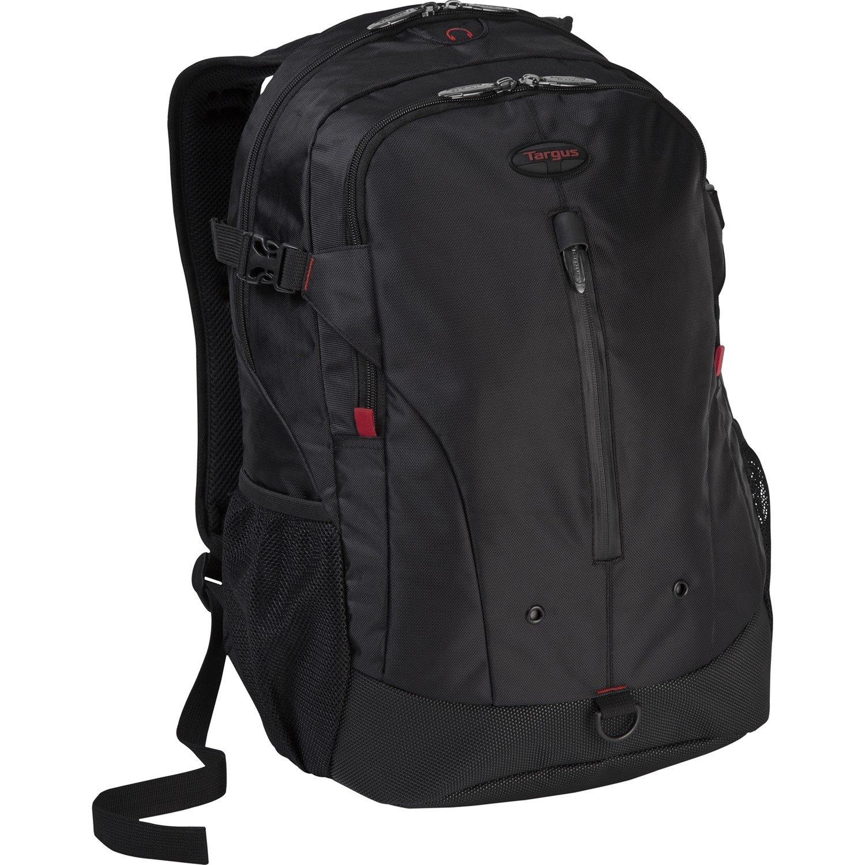 "Targus Terra TSB226AU/EDU Carrying Case (Backpack) for 40.6 cm (16"") Notebook - Black, Red"