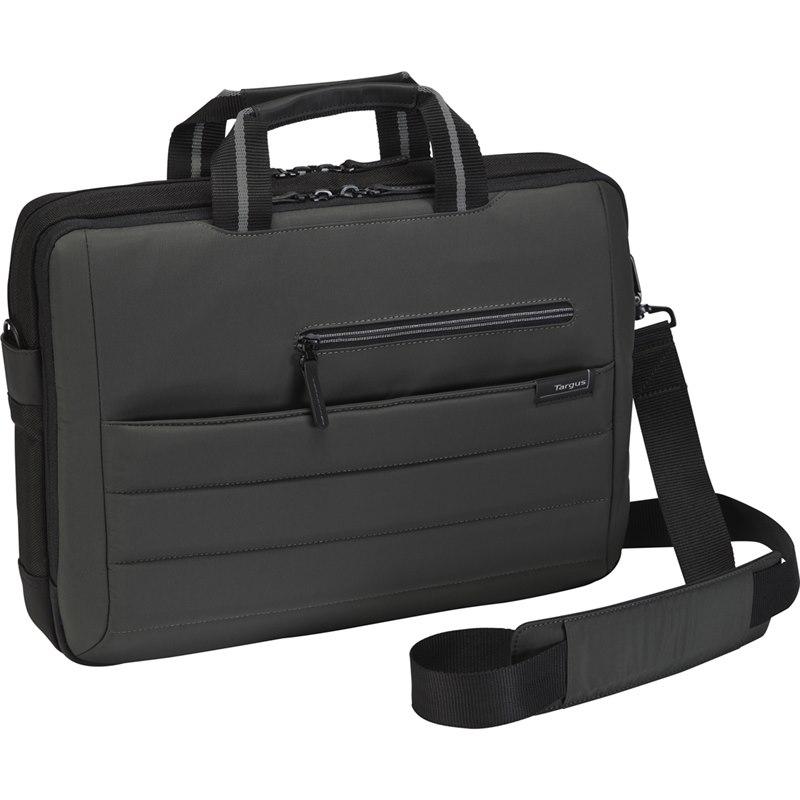 "Targus Pewter Carrying Case for 39.6 cm (15.6"") Notebook - Black"