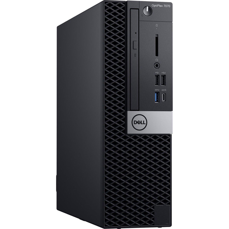 Dell OptiPlex 7000 7070 Desktop Computer - Core i7 i7-9700 - 8 GB RAM - 256 GB SSD - Small Form Factor