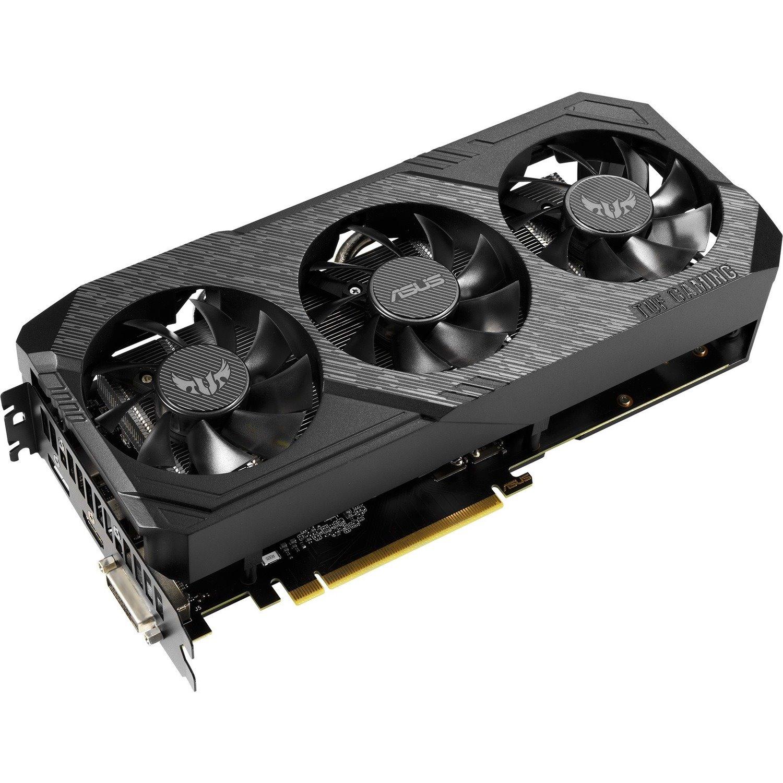 TUF TUF3-GTX1660-O6G-GAMING GeForce GTX 1660 Graphic Card - 6 GB GDDR5