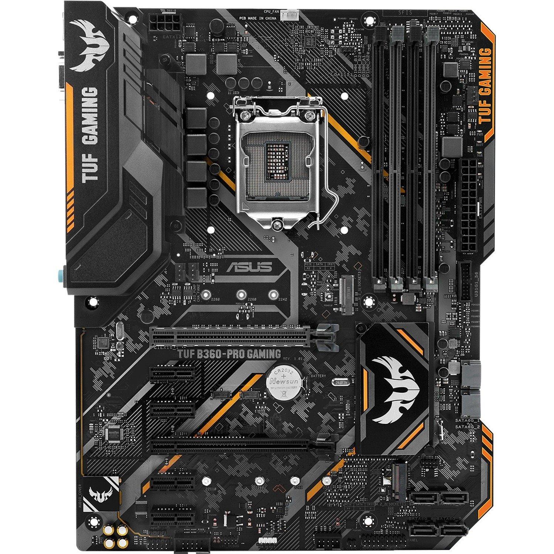 TUF B360-PRO GAMING Desktop Motherboard - Intel Chipset - Socket H4 LGA-1151