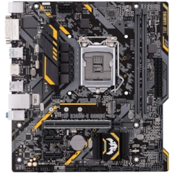 TUF B360M-E GAMING Desktop Motherboard - Intel Chipset - Socket H4 LGA-1151
