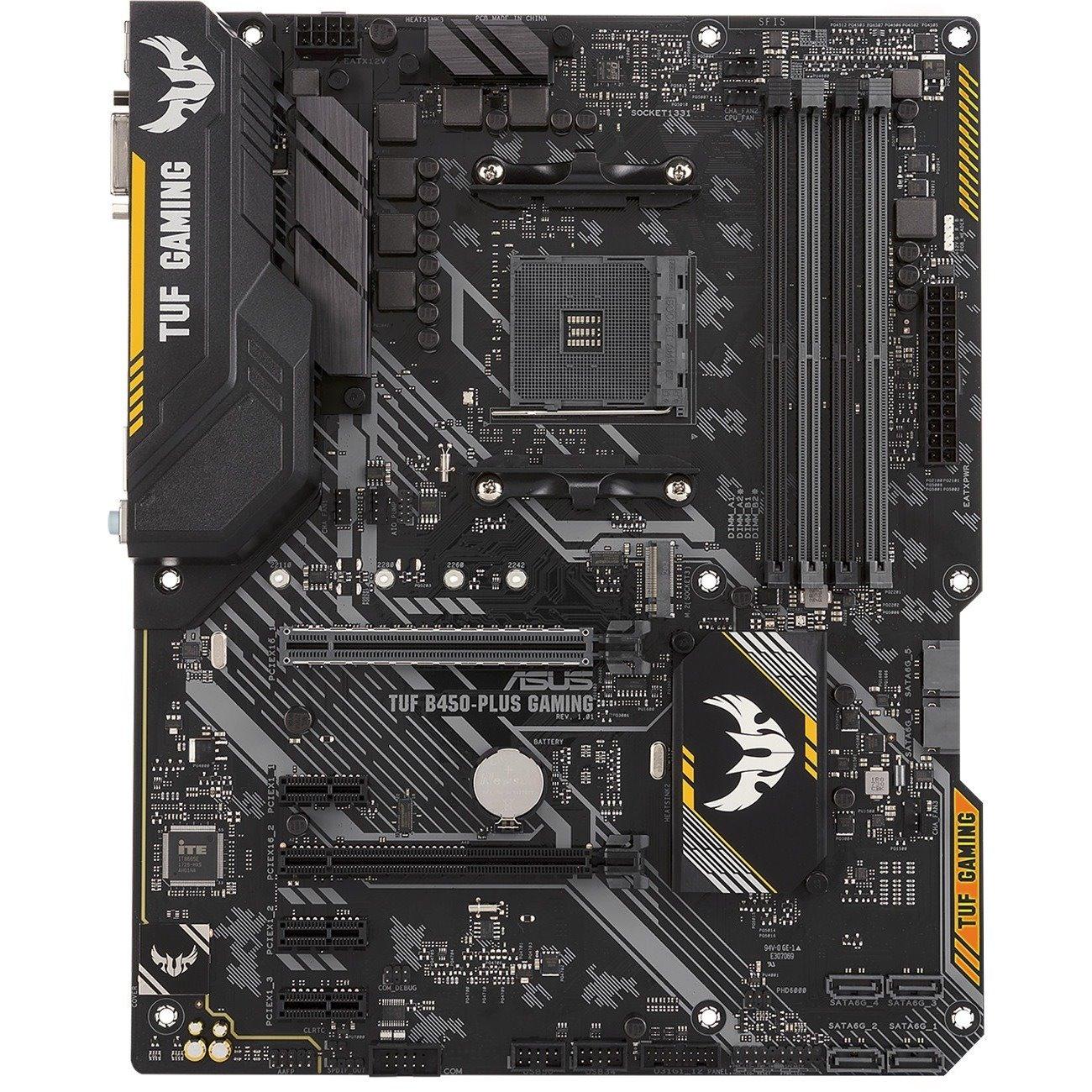 Buy TUF B450-PLUS GAMING Desktop Motherboard - AMD Chipset - Socket