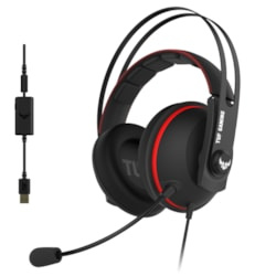 TUF Gaming H7 Core Wired Over-the-head Stereo Gaming Headset - Red