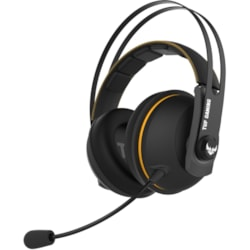 TUF Gaming H7 Wired/Wireless Over-the-head Stereo Gaming Headset - Yellow
