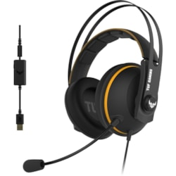TUF Gaming H7 Wired Over-the-head Stereo Gaming Headset - Yellow