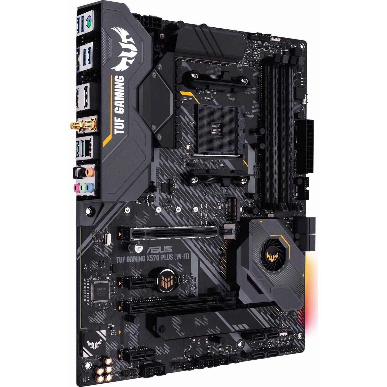 TUF GAMING X570-PLUS (WI-FI) Desktop Motherboard - AMD Chipset - Socket AM4