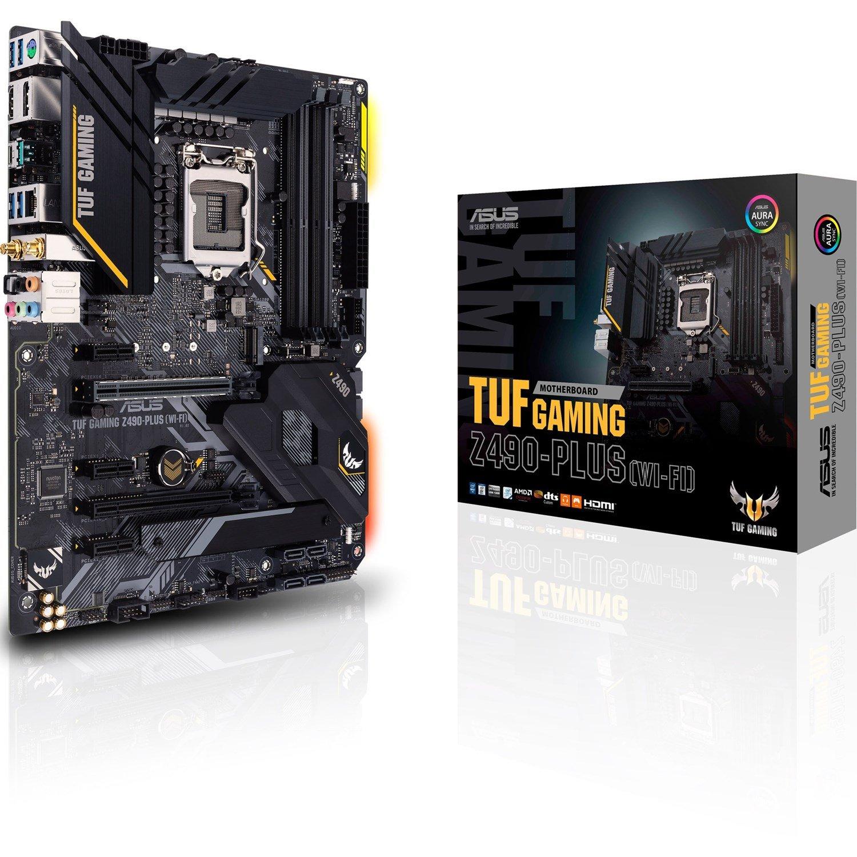 TUF GAMING Z490-PLUS (WI-FI) Desktop Motherboard - Intel Chipset - Socket LGA-1200