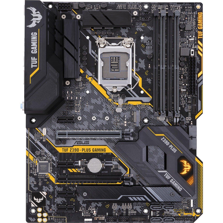 TUF Z390-PLUS GAMING (Wi-Fi) Desktop Motherboard - Intel Chipset - Socket H4 LGA-1151