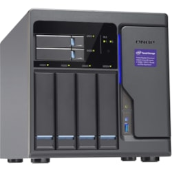 QNAP Turbo NAS TVS-682-I3-8G 6 x Total Bays SAN/NAS Storage System - Intel Core i3 Dual-core (2 Core) 3.70 GHz - 8 GB RAM - DDR4 SDRAM Tower