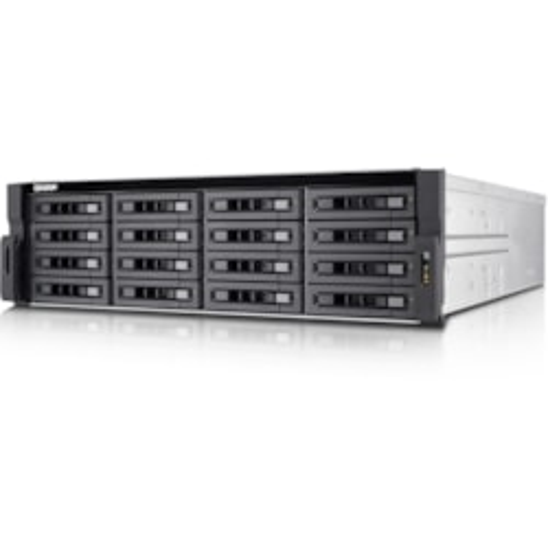 QNAP Turbo NAS TVS-EC1680U-SAS-RP R2 16 x Total Bays SAN/NAS Storage System - 2U - Rack-mountable