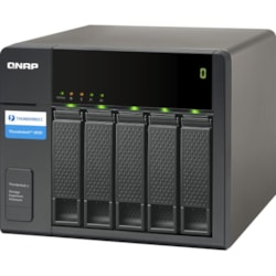 QNAP TX-500P Drive Enclosure - Thunderbolt 2 Host Interface Tower