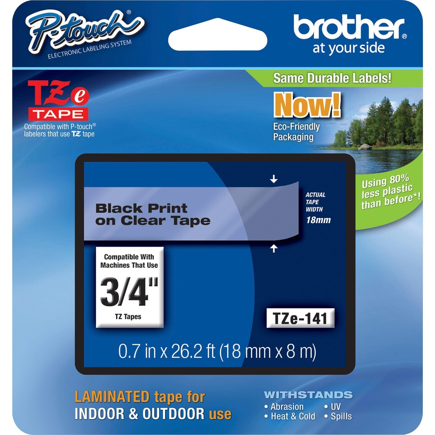Buy Brother TZE141 Label Tape | RTG