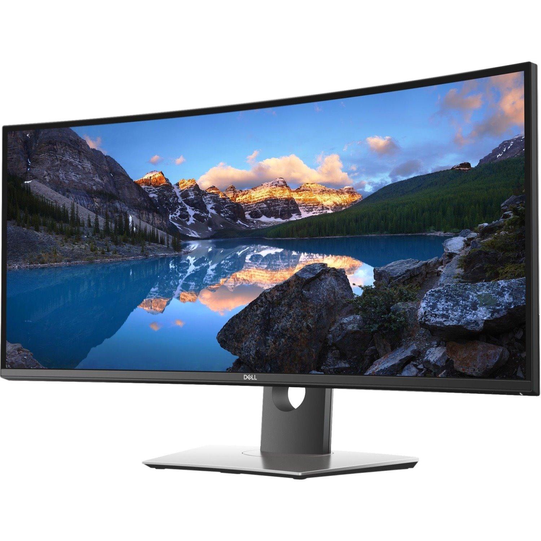 "Dell UltraSharp U3419W 86.7 cm (34.1"") UW-QHD Curved Screen Edge LED LCD Monitor - 21:9 - Black"