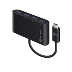 Alogic USB Hub - USB Type C - External - Black