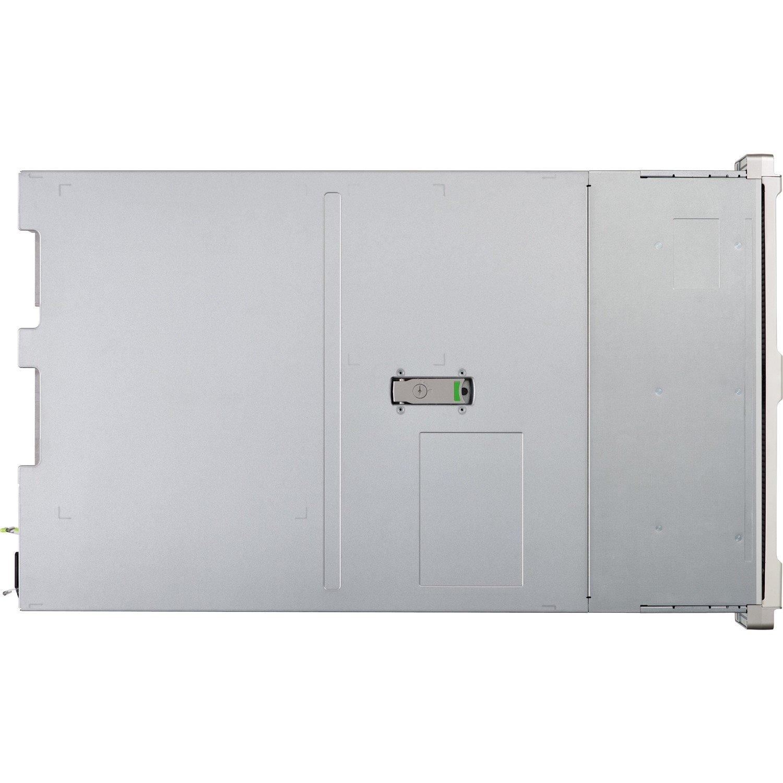 Cisco C240 M5 2U Rack-mountable Server - 2 x Intel Xeon Silver 4110 Octa-core (8 Core) 2.10 GHz - 32 GB Installed DDR4 SDRAM - 12Gb/s SAS Controller - 0, 1, 5, 6, 10, 50, 60, JBOD RAID Levels
