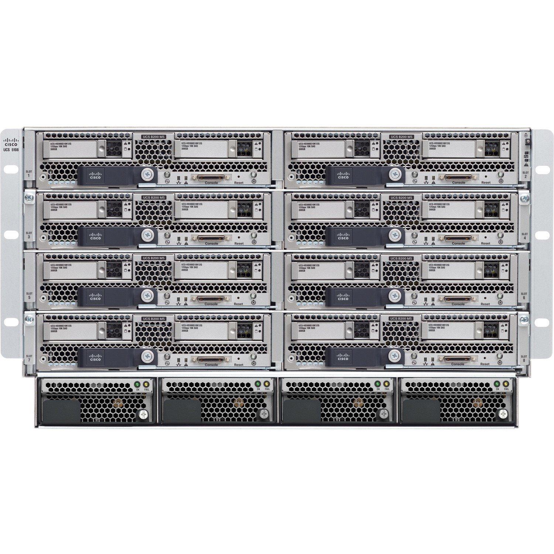 Cisco UCS 5108 Blade Server Case - Refurbished - Rack-mountable