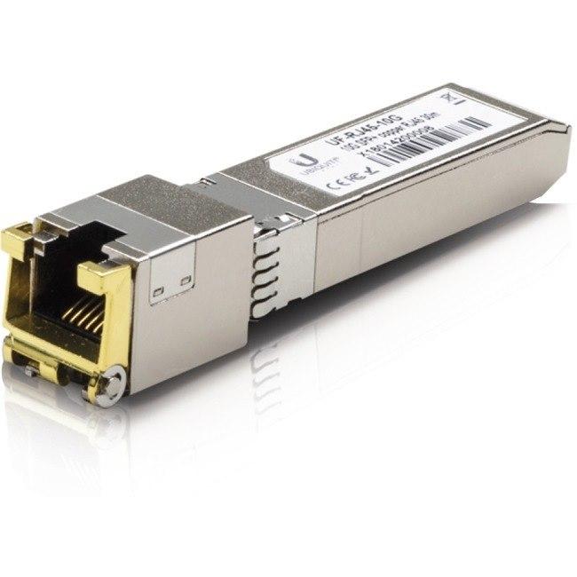 Ubiquiti U Fiber UF-RJ45-10G SFP+ - 1 RJ-45 10GBase-T Network LAN