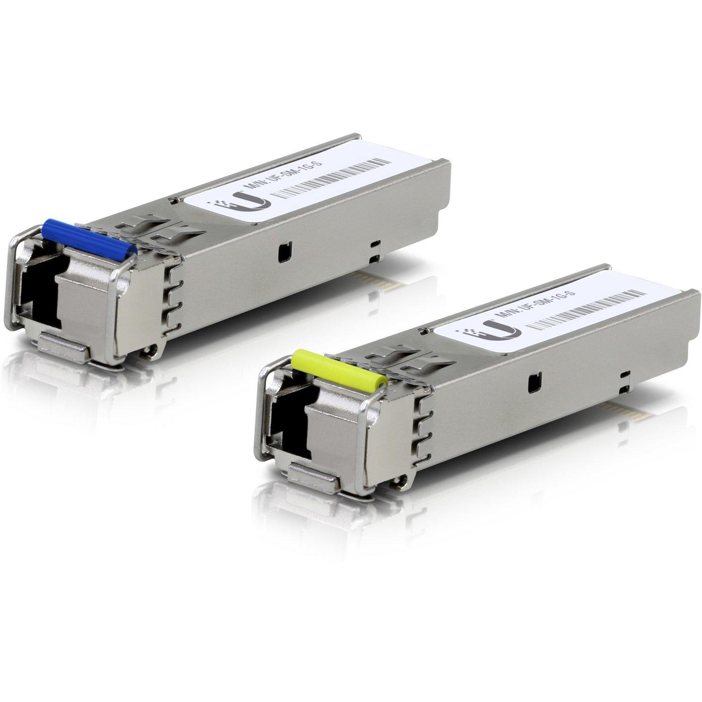 Ubiquiti U Fiber SFP (mini-GBIC) - 1 LC Simplex 1000Base-BiDi Network