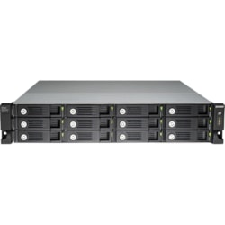 QNAP UX-1200U-RP Drive Enclosure Rack-mountable