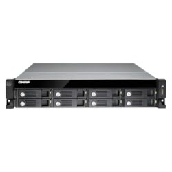 QNAP UX-800U-RP Drive Enclosure - USB 3.0 Host Interface Rack-mountable