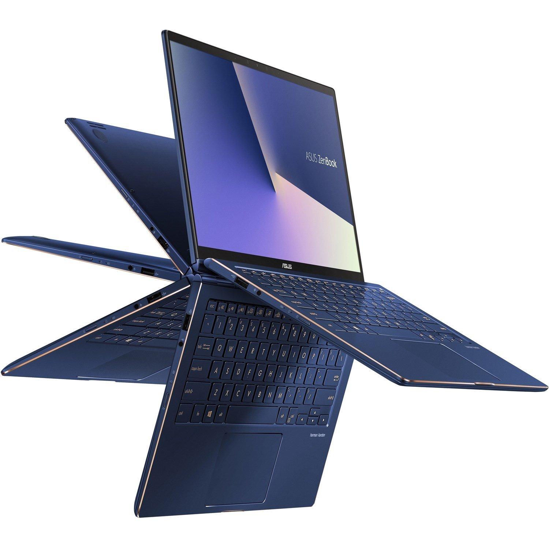 """Asus ZenBook Flip 13 UX362FA-EL205R 33.8 cm (13.3"""") Touchscreen Notebook - 1920 x 1080 - Core i5 i5-8265U - 8 GB RAM - 512 GB SSD - Royal Blue"""