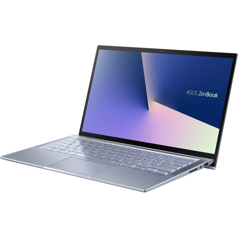 """Asus ZenBook 14 UX431FA-AM018R 35.6 cm (14"""") Notebook - 1920 x 1080 - Core i5 i5-8265U - 8 GB RAM - 256 GB SSD - Utopia Blue"""