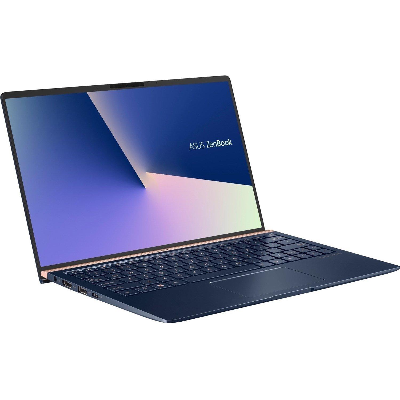 "Asus ZenBook 14 UX433FN-A5021R 35.6 cm (14"") Notebook - 1920 x 1080 - Core i7 i7-8565U - 16 GB RAM - 512 GB SSD - Royal Blue"