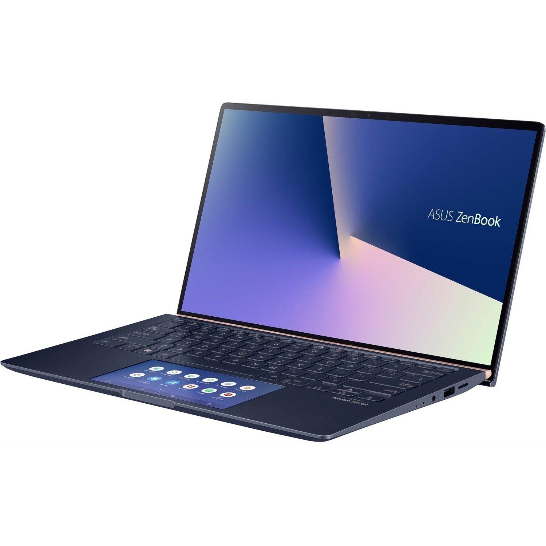 "Asus ZenBook 14 UX434FLC-AI284R 35.6 cm (14"") Notebook - 1920 x 1080 - Core i7 i7-10510U - 16 GB RAM - 1 TB SSD - Royal Blue"