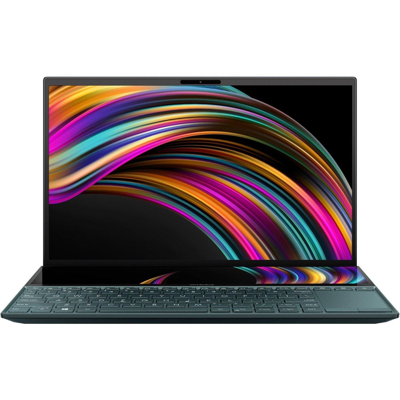 "Asus ZenBook Duo UX481FL-BM021R 35.6 cm (14"") Notebook - 1920 x 1080 - Core i7 i7-10510U - 16 GB RAM - 1 TB SSD - Celestial Blue"