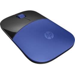 HP Z3700 Mouse - Radio Frequency - USB - Optical - 3 Button(s) - Blue, Black